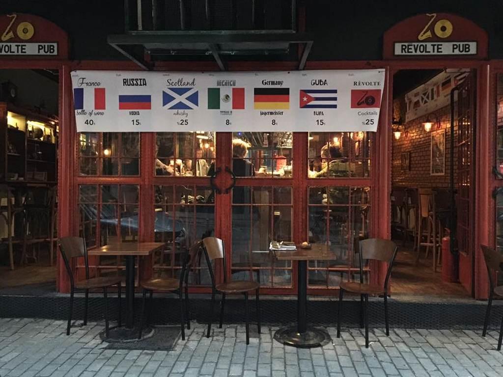 Bira Borsasını Sevin – Revolte Pub